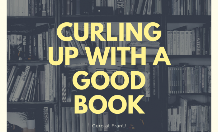 Curling up with a good book